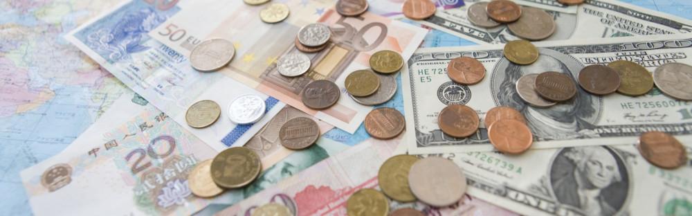 troca de moeda na viagem