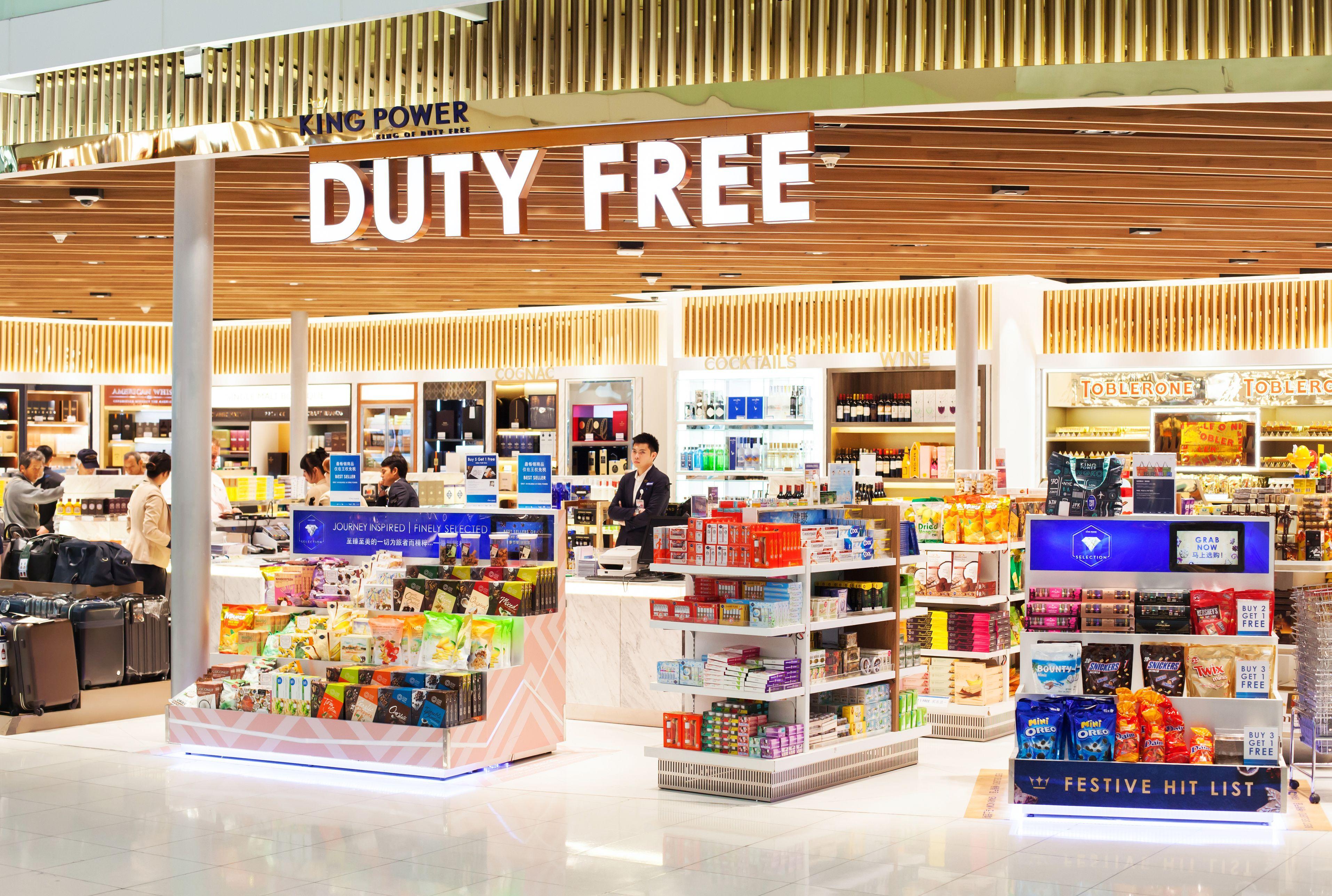 comprar no duty free na viagem