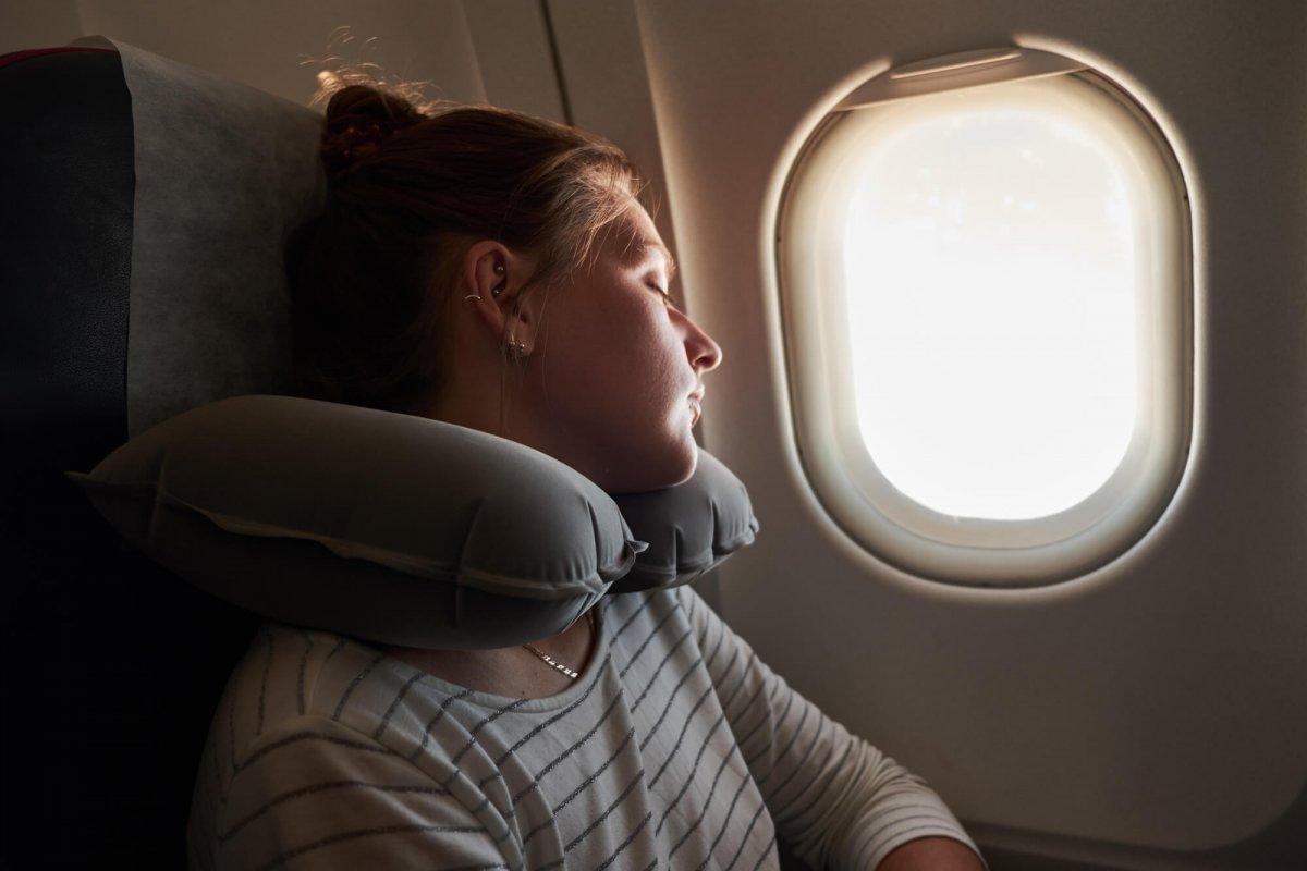 dormindo na viagem